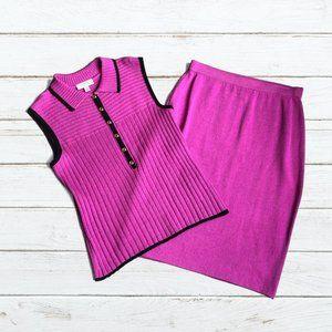 St. John Collection Knit Skirt/St. John Sport Top
